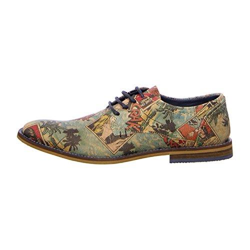 BULLBOXER 615K23855XP304 - Zapatos de cordones de Piel para hombre Varios Colores - Multicolor