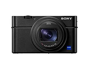 Sony DSC-RX100M6 - Cámara compacta (Sensor CMOS 1.0 de 20.1 MP, Zoom 24-200 mm, F2.8-4.5, vídeos 4K, AF de 0.03 s Disparo contínuo hasta 24 fps) Negro