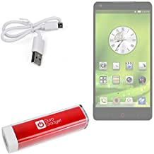 DURAGADGET Universal Power Bank in Red for ZTE Grand S3 / ZTE Nubia / Blade L2 / Blade V7 Lite / Grand S Pro / Nubia Z7 / Z7 Max / Blade Vec 3G / Blade Vec 4G & Kis 3 Max