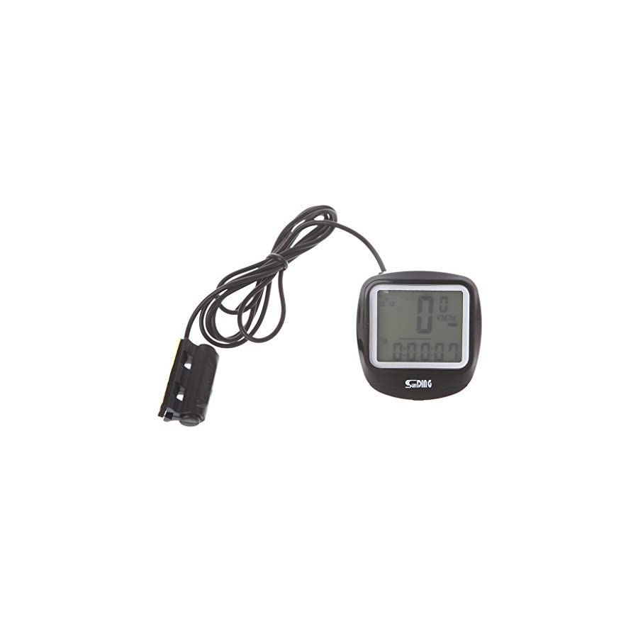 BetterM Luminous Bike Computer , Waterproof Cycling Speedometer Odometer with LCD