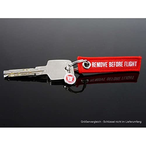 "Porte Clés - "" Remove Before Flight "" - *** EDITION MINI - 3 pièce Pack ***"