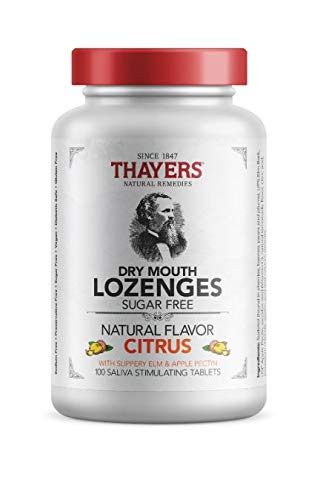 Lozenges Mouth Citrus Dry (Thayers Sugar-Free Dry Mouth Lozenges, Citrus, 100 Count)