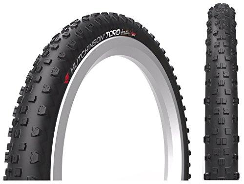 Hutchinson Toro Kloss 27.5x2.80 Tubeless Ready Black Bike Tires, 27.5