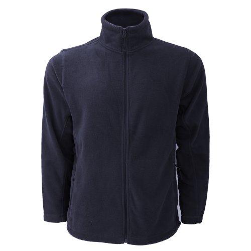 Russell Mens Full Zip Outdoor Fleece Jacket (S) (French - Mens Heavyweight Jerzees Fleece