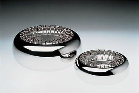 Alessi Spirale - ceniceros (Acero inoxidable, 120 x 120 x 45 mm, Acero inoxidable): Amazon.es: Equipaje