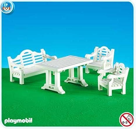 PLAYMOBIL 7929 - Muebles de jardín: Amazon.es: Juguetes y juegos