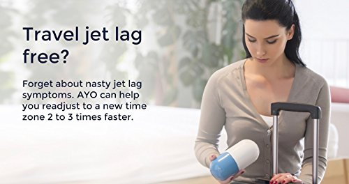 AYO: Blue-light wearable that helps you sleep better, beat jet lag and boost your energy! Completely controlled by the goAYO App. by AYO (Image #6)