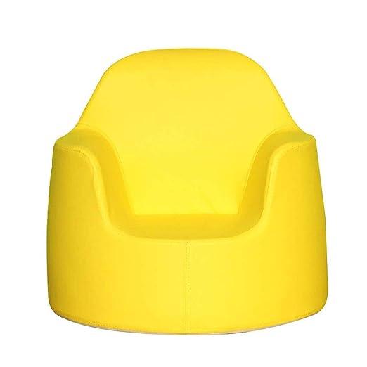 WJHH Sillón para niños Lindo sofá de Espuma de Color sólido ...