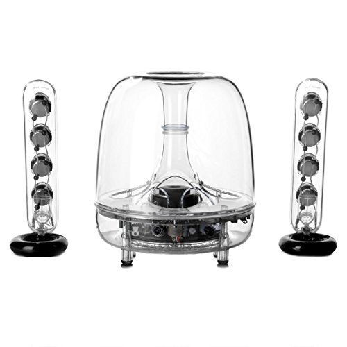 Harman Kardon SoundSticks Wireless Bluetooth Enabled 2.1 Speaker System by Harman Kardon
