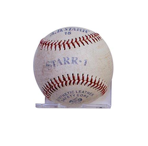 Deluxe Clear Acrylic Baseball Wall Mounted Floating Shelf Bracket - Baseball Case Floating Display