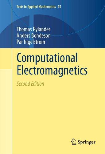 Computational Electromagnetics (Texts in Applied Mathematics)