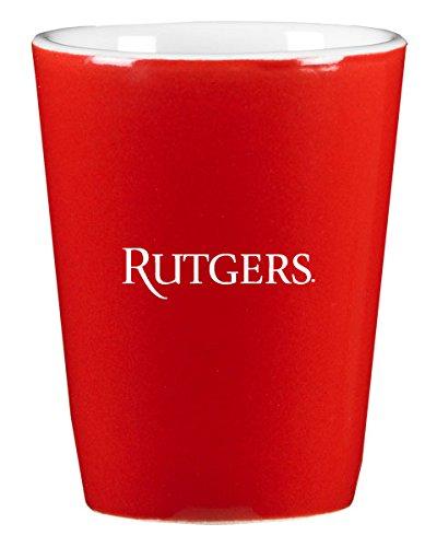 Rutgers University - 1.75oz Ceramic Shot Glass - Red