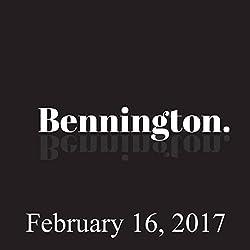 Bennington, February 16, 2017
