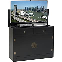 TVLiftCabinet, Inc Adagio black TV Lift Cabinet