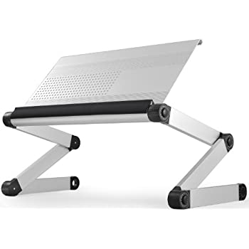 Desktop Computer Table Adjustable &portable Laptop Desk Rotate Laptop Bed Table Can Be Lifted Standing Desk With Keyboard Durable In Use Office Furniture Furniture