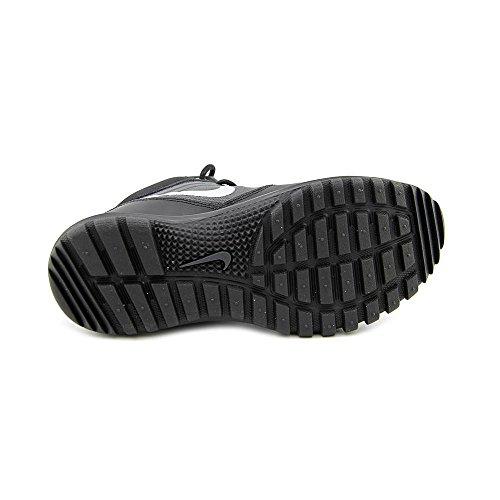 Nike Dual Fusion Hills Mid (Gs), Zapatillas de Senderismo para Niños BLACK/METALLIC SILVER-ANTHRCT