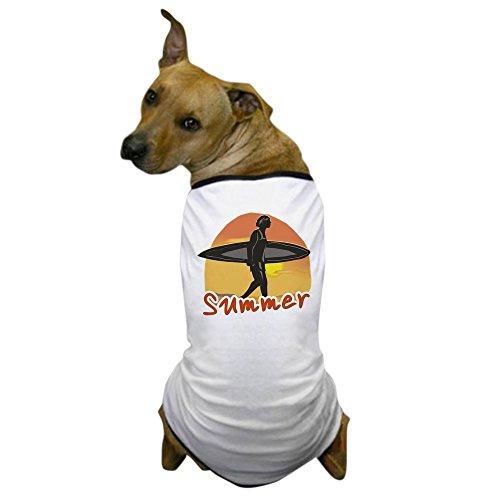 Surfer Dog Costume (CafePress - Summer Surfer Dog T-Shirt - Dog T-Shirt, Pet Clothing, Funny Dog Costume)
