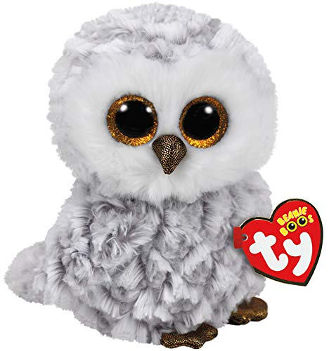 Ty Beanie Boos Owlette - White owl reg]()