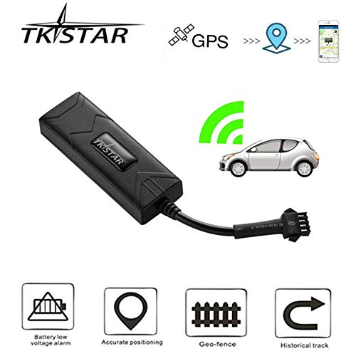 TKSTAR GPS Tracker Car Truck Vehicle Real-time Tracking Anti-Theft Mini  Outdoor Tracker GPS/GSM / GPRS SIM Card SMS Tracker with Free APP TK806