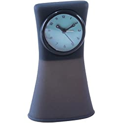 Natico Silicon Travel Alarm Clock, Grey (10-517GY) by Natico