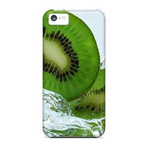 Tpu ConnieJCole Shockproof Scratcheproof Kiwwi Hard Case Cover For Iphone 5c