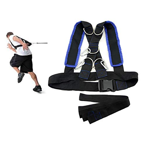 (HemeraPhit Speed Agility Training Harness Strap Running Sports Training Shoulder Belt)