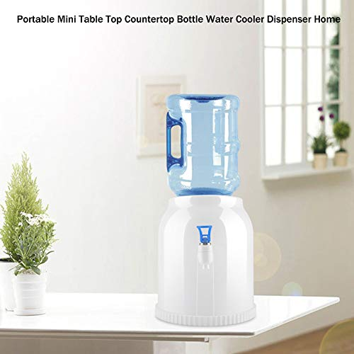 Haofy Portable Mini Table Top Countertop Bottle Water Cooler Dispenser Home Office School Camping Use by Haofy (Image #1)