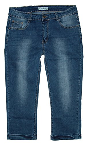 Femme Capri Jeans B Midblue Used Jeans S 4Iv4Uq