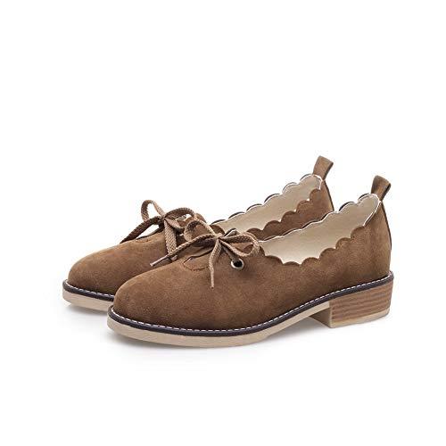 AN Compensées Sandales Femme DGU00517 Marron 5 Marron 36 FFpZOqnwa