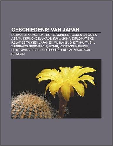 Geschiedenis van Japan: Dejima, Diplomatieke betrekkingen ...