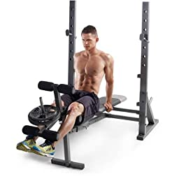 Gold\'s Gym Xr 10.1 Olympic Weight Bench Incline, Decline and Flat Positions