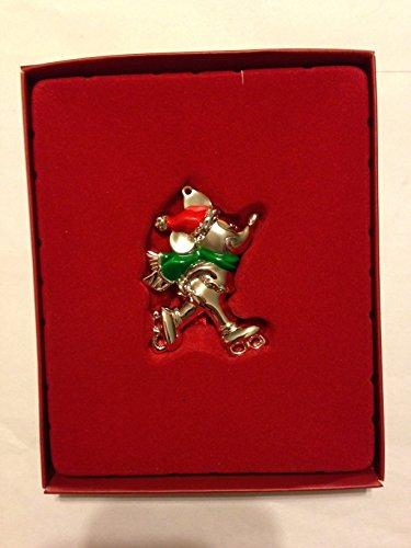 Disney Lenox Mickey Mouse Skating Silverplate - Lenox Skating