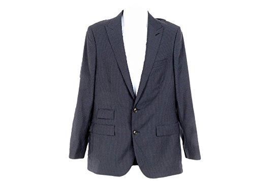 J Crew Men's Ludlow Suit Jacket in Navy Pinstripe Italian Wool 40l A1409
