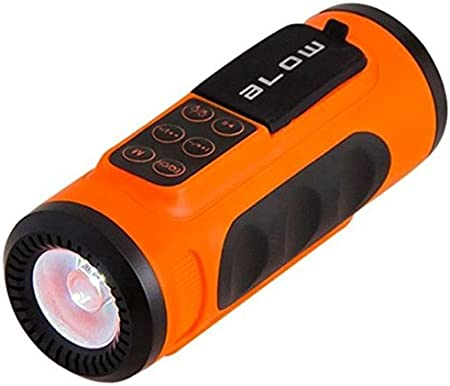 Blow - El Jugador bt300 Bluetooth de la Bicicleta de la Linterna ...