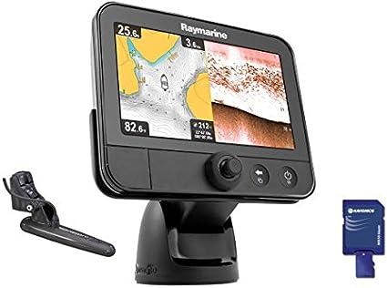 Raymarine Dragonfly E70231-EU - Sonda GPS (con tecnología sónar/GPS, 7 pulgadas, con sónar DownVision integrado, incluye mapas del territorio de la UE): Amazon.es: Electrónica