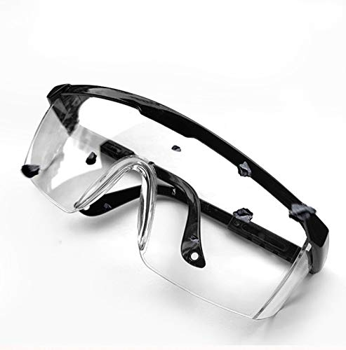 SN-RIGGOR 3 Packs Fashion Anti Fog Protective Goggles Safety Glasses Perfect Eye Protective Glasses for Work/Workplace Safety Goggles Over Glasses