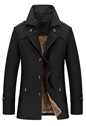 Faux Fur Classic Coat - 6