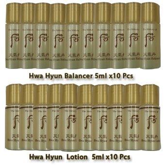 The History of Whoo Cheongidan Hwa Hyun Balancer & Lotion Sample Set