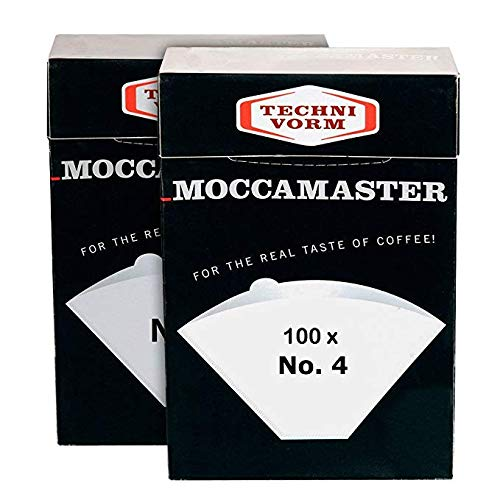 Technivorm Moccamaster 85022 Moccamaster #4 Paper Filters, White (2)... (Limited Edition)