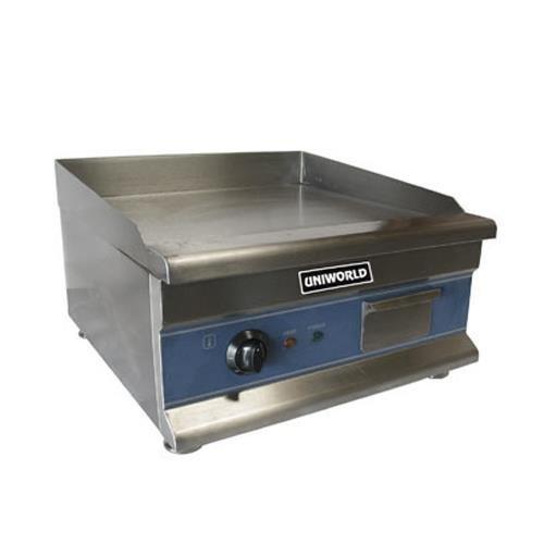 UniWorld 20'' Stainless Steel Electric Griddle Kitchen Restaurant UGR-CH20
