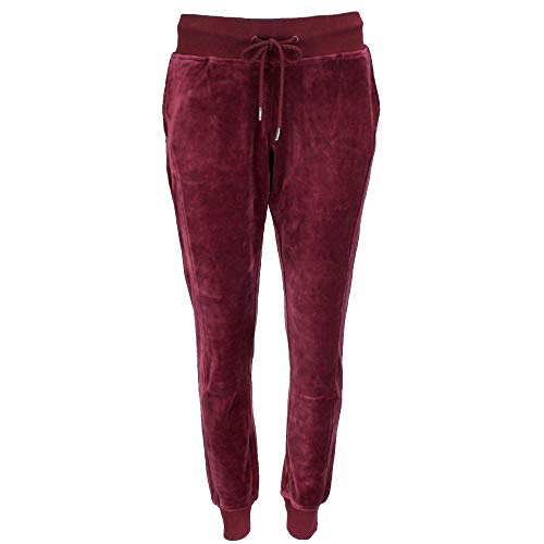(PUMA Women's x Fenty by Rihanna Velour Fitted Track Pants Tawny Port X-Large 30 )