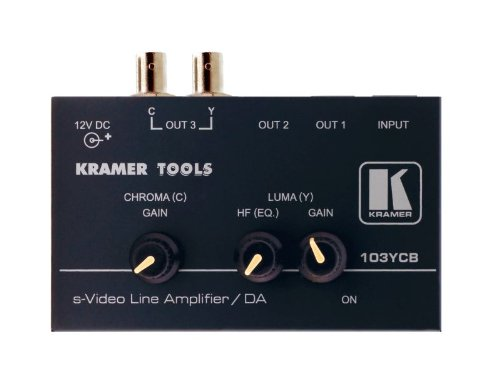 (Kramer 103YCB 1:3 S-Video (Y/C) Distribution & Line Amplifier)