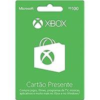 Cartao Xbox Live R$ 100,00