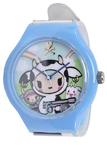 (Tokidoki Moofia Mozzarella Bulletto Latte Time Wrist Watch )