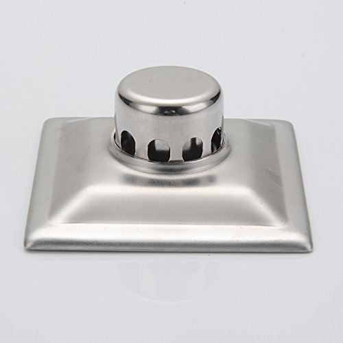 YLHM Floor drain/full copper washroom washing machine floor drain bathrooms stainless steel odor prevention and insect proof square floor drain floorboard