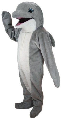 Dolphin Mascot Costume (Dolphin Mascot Costumes)