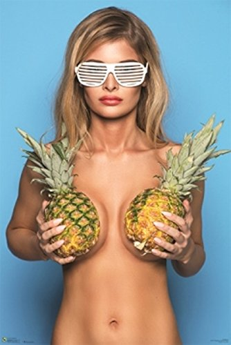 Pineapples Hot Girl Poster 24 by - Dorm Sexy Girls