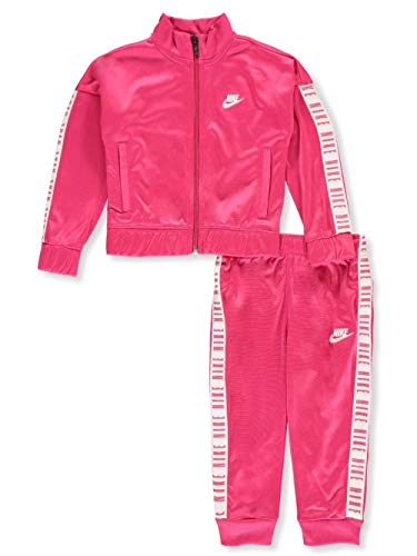 Nike Baby Girls' 2-Piece Tracksuit - Fuchsia, 12 Months