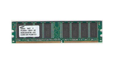 Samsung 512Mb Ddr Pc3200 Cl3 184 Pin Dimm M368L6423Etm-Ccc
