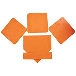 Orange Throw Down Bases (5 Piece)